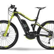 Xduro FS RX 27,5 e-Mountainbike schwarz lime