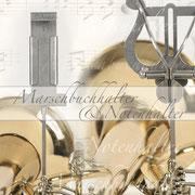 Marschbuch-/Notenhalter