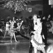 Frühlingsball in der festlich geschmückten Festhalle 1986