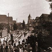Turnfestumzug vor dem 2.ten Weltkrieg