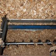 Funil de carregamento dos cavacos