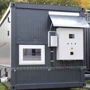 Sistema de controle do secador de piso móvel