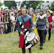 alljährliches Mittelalterfest