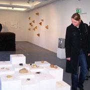 und Eröffnung der Ausstellung