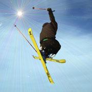 Der fliegende Skilehrer Hans