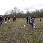 Treffen in der Steller Heide am 13. März 2011