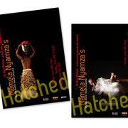 Mamela Nyamza, danseuse. Flyer, Affiche