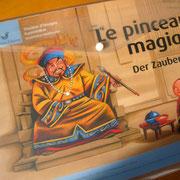 Le pinceau magique. © Editions Paloma - Kormann - Girardet  2013