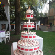 torre de cupcakes boda