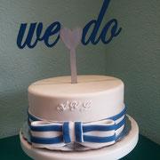 pastel boda marinero