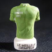 Fève Maillot vert Tour de France