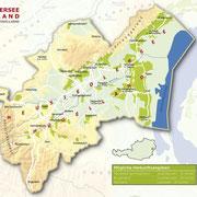 Topografische Karte Neusiedlersee-Hügelland - ÖWM/Photograph