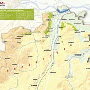 Weinanbauflächenkarte Traisental - ÖWM/Photograph