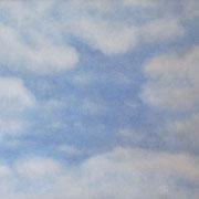 Wolken • 2012 • Öl auf Holz • 70 x 58