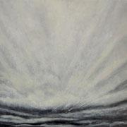 Wolken • 2012 • Öl auf Leinwand • 180 x 80