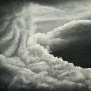 Wolken • 2012 • Öl auf Holz • 75 x 60