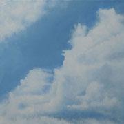 Wolken • 2015 • Öl auf Leinwand • 50 x 50