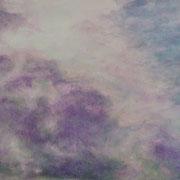 Wolke • 2014 • Tempera auf Karton • 15 x 20