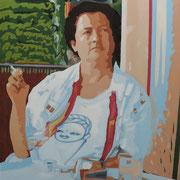 Beatrice H. • 2017 • Öl auf Leinwand • 80 x 100