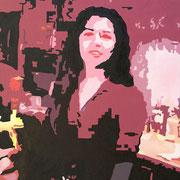 Narkys • 2009 • Acryl auf Leinwand • 80 x 100