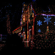 Weihnachtshaus Hoya Bücken Calle Weihnachtsmarkt Lichter