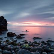 Zonsondergang bij Dritvik