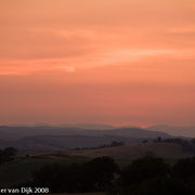 Zonsondergang bij Buon Convento