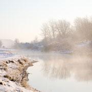 Landschap met sneeuw