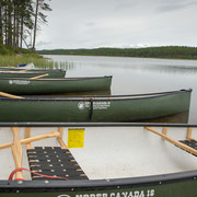 Kano's in de Särna rivier