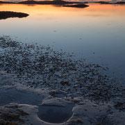 Zonsondergang bij Bleik