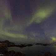 Noorderlicht boven Andenes