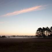 Zonsopkomst Leersumse veld