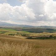 Panorama Pienza - San Quirico