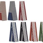 【半天帯】 ■素 材:綿100% ■サイズ:長さ2.6m/巾8cm