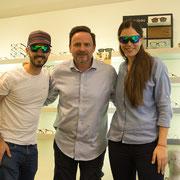 Brillenwerkstatt Roland Pföss stattet uns mit zwei optischen Sportsonnenbrillen von Sziols aus, genial für uns Brillenträger!!