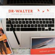 Dr. Walter unterstützt uns mit zwei ProTrip L Reiserversicherungspaketen!