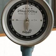 昔ながらの体重計(女湯のみ)