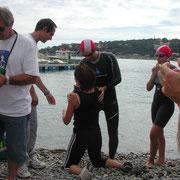 Le relais natation du Relais Raid