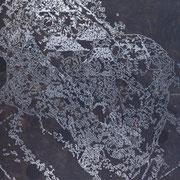 Magnetita-02  - Acrilico y esmalye sobre tela 85cm X 70cm