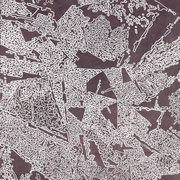 Magnetita-01  - Acrilico y esmalye sobre tela 95cm X 70cm
