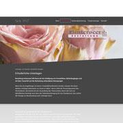 Homepage Hinterseer Bestattung · www.hinterseer-bestattung.de · Content-Management · Jimdo