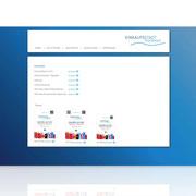 Neugestaltung des Internetauftritts · Single-Page-Design Umsetzung