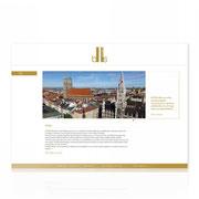 Webauftritt BHMS GmbH · www.bhsm.eu · Single-Onepage · Content-Management-System