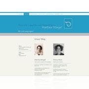 Homepage Praxis für Logopädie ·  www.logopraxis-wt.de · Dynamische Webseite