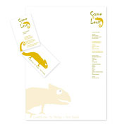 Briefbogen + Geschäftskarte · Came&Leon