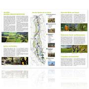 Gestaltungskonzept für Informationsfaltblatt