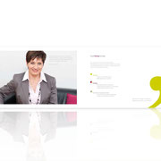 Neues Corporate-Design · Imagebroschüre