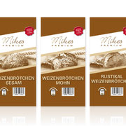 Packaging Design für Mikes Premium (Aldi Süd)
