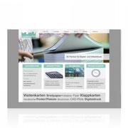 Webauftritt Digitaldruck · www.tyroller-druck-muenchen.de · Content-Management-System + Shop-System