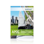 Alantum · Corporate-Design-Entwicklung · APOC-Broschüre Clean Air Technology